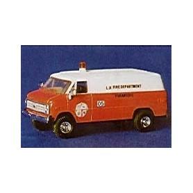 "Trident 90175 Chevrolet Van ""Los Angeles City Fire Dept. Rescue Ambulance Class 1"""