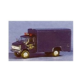 "Trident 90178 Chevrolet Box Van ""Michigan State Trooper"""