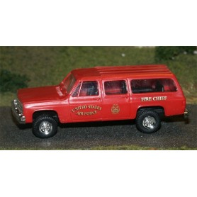 "Trident 90111 Chevrolet Suburban ""US Air Force - Fire Chief"""