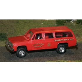 "Trident 90111A Chevrolet Suburban ""US Air Force - Assistant Fire Chief"""