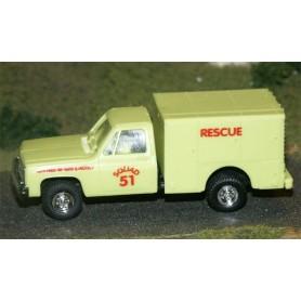 "Trident 90117L Chevrolet ""Rescue Squad 51"""