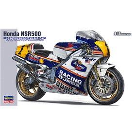 """Hasegawa 21504 Motorcykel Honda NSR500 """"1989 WGP500 CHAMPION"""""""