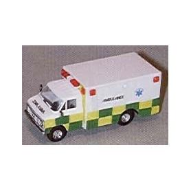 "Trident 90203 Chevrolet Box Van ""GB Paramedics"""