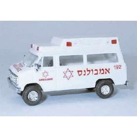 "Trident 90223 Chevrolet Van ""Magen David Adom In Israel"""