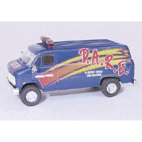 """Trident 90230 Chevrolet Van """"D.A.R.E. - To Resist Drug And Violence"""""""