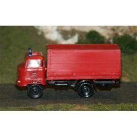 """SES 18105755 IFA W50 Lastbil med kapell """"Berliner Feuerwehr"""""""