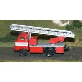 """SES 18105753 IFA W50 Lastbil med kran """"Feuerwehr"""""""