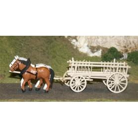 SES 16100002 Hövagn med hästar
