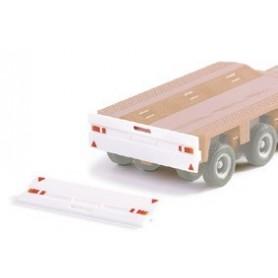 Herpa 051606 Rear bumper for heavy-day trailer