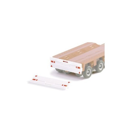 Herpa 051606 Rear bumper for heavy-day trailer