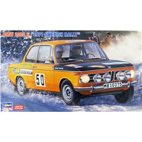 """Hasegawa 20381 BMW 2002 ti 1971 """"Swedish Rally"""""""