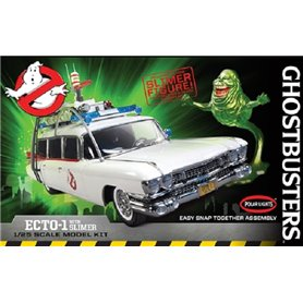 "Polar Lights 958 Ghostbusters ECTO-1 with slimer ""Snap Kit"""