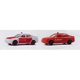 Rietze 16006 Audi A4 Brandbil 2-Pack