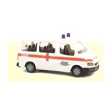 "Rietze 50724 Ford Transit ""Rotes Kreuz"""