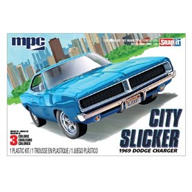 "MPC 879 Dodge Charger RT City Slicker 1969 ""Snap Kit"""