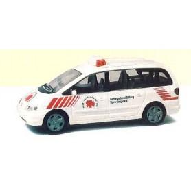 """Rietze 50751 VW Sharan """"Rettungsdienst Steiger"""""""