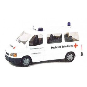 "Rietze 50698 Ford Transit Bus ""Rotes Kreuz"""