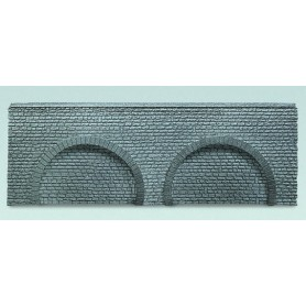 "Faller 272646 Arkadplatta ""Naturstein Quader"", polystyrene, mått 37,0 x 6,0 x 1,0 cm"