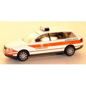 """Rietze 50934 Audi A6 Avant """"Notarzt Kommando Ambulance"""""""