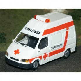 "Rietze 50770 Ford Transit ""Ambulancia Spain"""