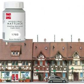 Busch 1702 Modellbyggarfärg, mattlack, vit, 100 ml i flaska
