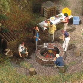 Busch 5407 Lägereld och grill