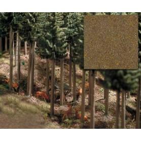 """Busch 7528 Skogsgrund """"Hardwood"""", 300 ml i påse, innehåller sand, fint grus och flock"""