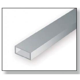 Evergreen 258 Rektangulärt rör 3.96x7.9mm, 2 st, längd 35 cm