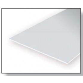 Evergreen 9010 Plasticard 0.25mm, 4 st, mått 15 x 30 cm