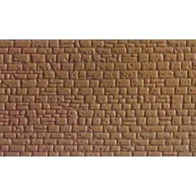 Kibri 7960 Murplatta, plast, mått 20 x 12 cm