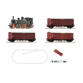 Roco 51329 z21 start Digitalset: Steam locomotive 875 045 with freight train, FS