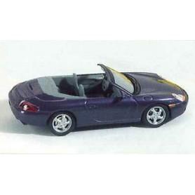Schuco 04412 Porsche 996 Cabriolet, blå metallic