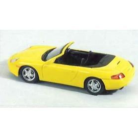 Schuco 04413 Porsche 996 Cabriolet, gul