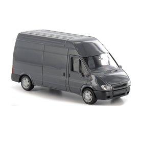 Rietze 11010 Ford Transit 2000 skåp, grå, omärkt