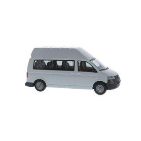 Rietze 11517 Volkswagen T5 Högtak Bus LR vit, omärkt