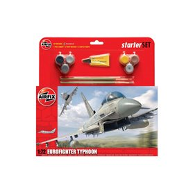 Airfix 50098 Flygplan Eurofighter Typhoon Starter Set