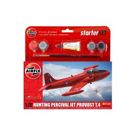 Airfix 55116 Flygplan Hunting Percival Jet Provost T.4 Starter Set