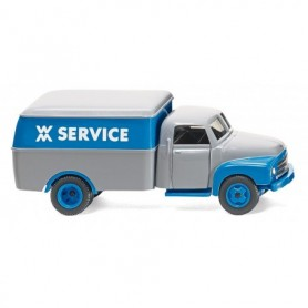 Wiking 35402 Box van (Opel Blitz) 'WM Service'