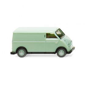 Wiking 33401 DKW speed van box van white-green