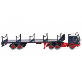 Wiking 55402 Stanchion trailer truck MB3850 'Rheinkraft-Spedition)