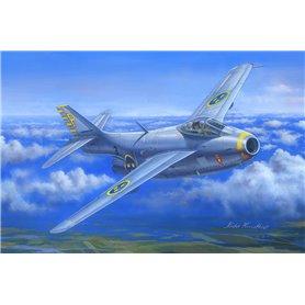 """Hobby Boss 81746 Flygplan SAAB J-29B """"Tunnan"""""""