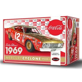 "Polar Lights 948 Mercury Cyclone Spoiler II ""Bobby Allison 1969 - Coca Cola"""