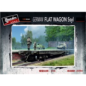 Thunder 35904 German Flat Wagon Ssyl