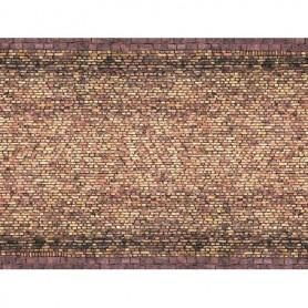 Noch 56605 Murplatta 3D 'Brick' gul