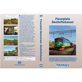 Teknikarv TAM57KAFFE Förarplats Skelleftebanan (Bastuträsk?Skelleftehamn), DVD