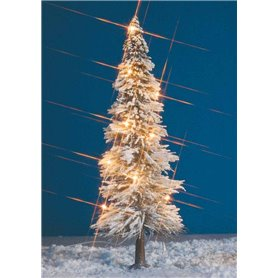 Busch 8624 Julgran med belysning