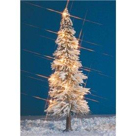 Busch 8624 Julgran med belysning, 20 cm
