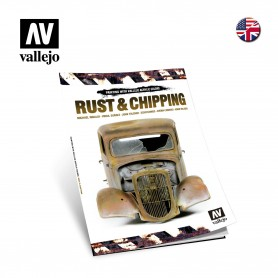 Vallejo 75011KAFFE Bok Rust and Chipping