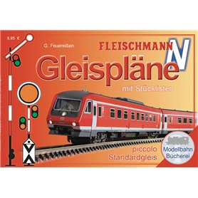 Fleischmann 81399KAFFE Track Manual FLEISCHMANN N gauge (for ballasted tracks)