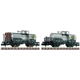 """Fleischmann 881906 Vagnsset med 2 tankvagnar typ DB """"BP"""""""